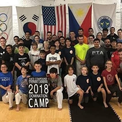 Olympian Stephen Lambdin's Domination Camp 2018